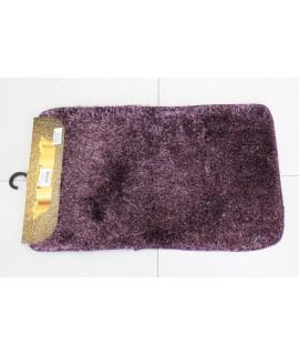 Kúpeľňová dvojdielna súprava SYNERGY - SIMSIZ PLAIN (S-9) - fialový (50x80 cm)