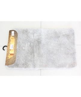 Kúpeľňová dvojdielna súprava SEBANO PLAIN (M-7) - sivý (50x80 cm)