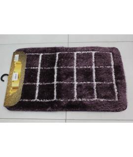 Kúpeľňová trojdielna súprava SENTEZ-FULYA (50x80 cm) - fialová