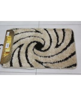 Kúpeľňová dvojdielna súprava SENTEZ-SIMSIZ-WELLE 10 - béžová (50x80 cm)