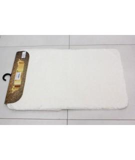 Kúpeľňová dvojdielna súprava SEBANO-PLAIN-M-1 - biela (50x80 cm)