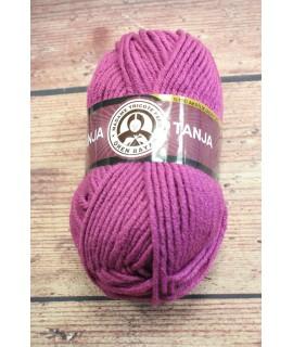 Vlna TANJA 051 - fialová (100g-120m)