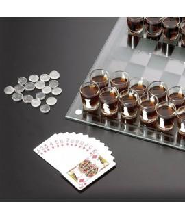 Alkoholové šachy - DeLuxe