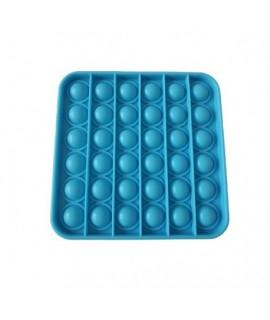 Antistresová senzorická hračka Push Pop Bubble - SQUARE Zelená