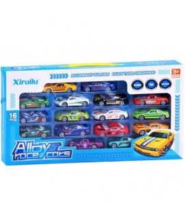 Autíčka Alby race cars 16 kusov