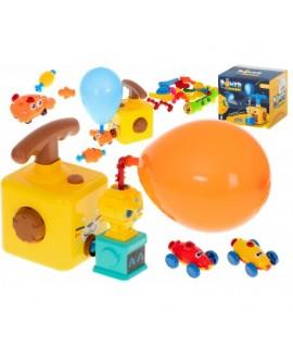 Autíčka na balónový pohon