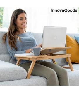 Bambusový stolík na notebook - INNOVAGOODS