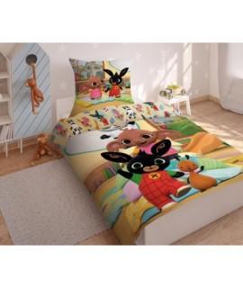 Bavlnené posteľné obliečky Bing 02 100x135 cm