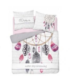 Bavlnené posteľné obliečky Dream 3338 A 160x200 cm