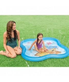 Bazén s tryskami Macko Pu 140x9 cm