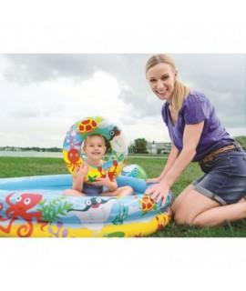 BESTWAY 51124 detský bazén 3v1 Chobotnica 122x20cm