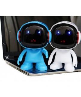 Bluetooth reproduktor robot Biela