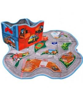 Box na hračky + podložka na hranie (2v1)
