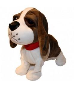 Chodiaci a štekajúci interaktívny pes Hnedá