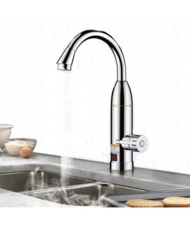 Chrómový elektrický prietokový ohrievač vody 3KW