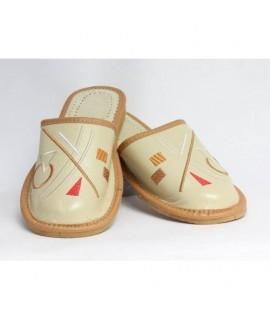 Dámske kožené papučky model 32 36