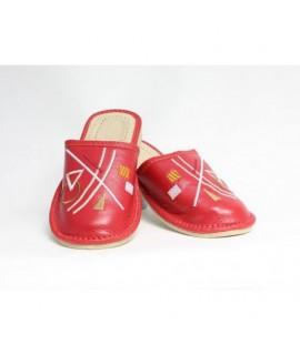 Dámske kožené papučky model 33 36