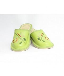 Dámske kožené papučky model 34 36