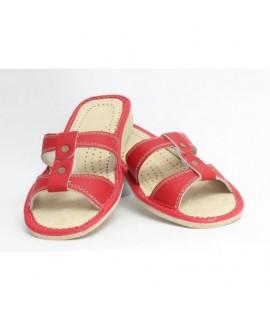 Dámske kožené papučky model 5 36