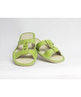 Dámske kožené papučky model 6 36