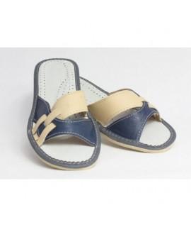 Dámske kožené papučky model 8 36
