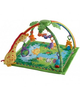 Detská hracia deka s hrazdičkou - Prales
