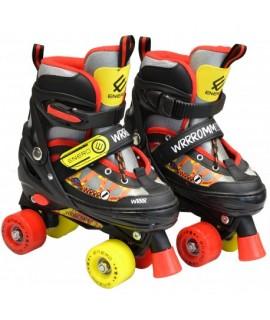Detské dvojradové korčule Enero Cars - 34-37