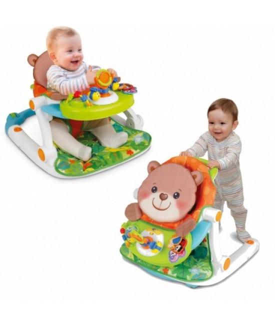 Detské kresielko 2v1 - medvedík