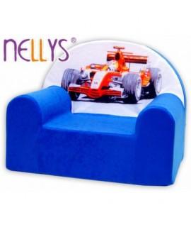 Nellys Detské kresielko - Formula Modrá