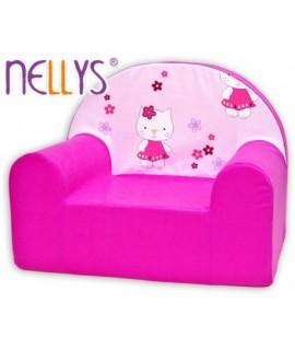 Nellys Detské kresielko - Kitty mačička