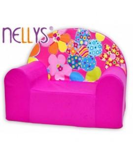 Nellys Detské kresielko - Kvetinky