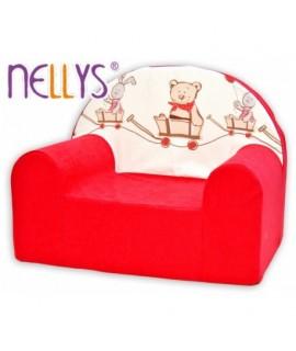 Nellys Detské kresielko - Míša a zajačik