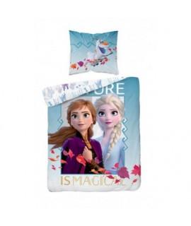 Bavlnené detské obliečky Frozen Magical 140x200 cm