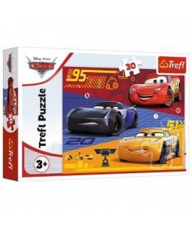 Detské Puzzle - Blesk McQueen 30 ks
