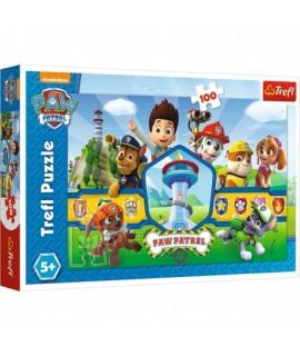 Detské Puzzle - Paw Patrol 100 ks