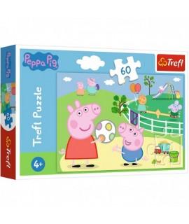 Detské Puzzle - Prasiatko Peppa 60 ks