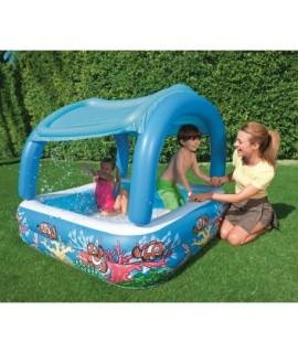 Detský bazén so strieškou 147x147x122 cm - BESTWAY