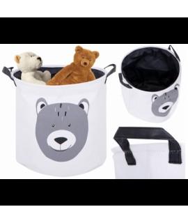 Detský látkový kôš na hračky - Medvedík