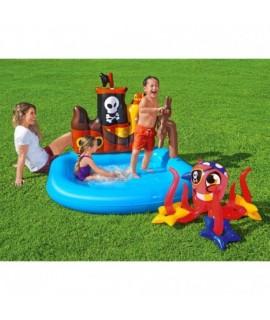 Detský nafukovací bazénik - Pirátska loď - 140x130 Bestway
