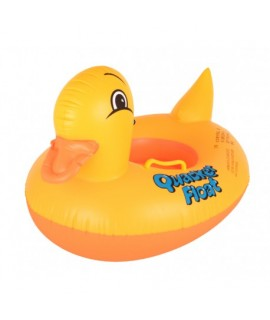 Detský plávací kruh kačička 63x45cm