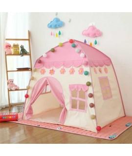 Detský rozprávkový stan - Castle Ružová
