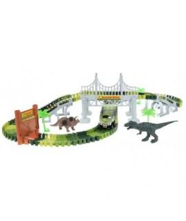 Dinosauria autodráha - 216cm