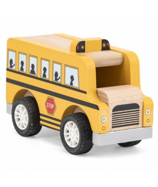 Drevený autobus