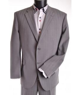 Pánsky oblek - bledosivý (v. 176 cm)