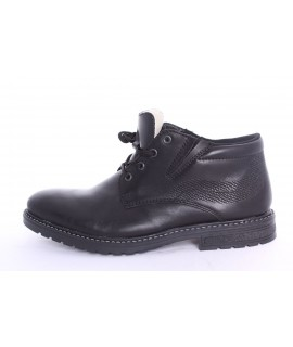 Pánska zateplená zimná obuv RIEKER (B5341-00) - čierna
