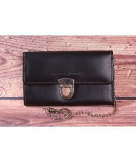Čašnícka peňaženka s retiazkou MARCO AMRINI  0684-1 (18x10 cm) - čierna