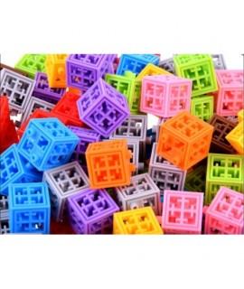 Farebné kreatívne kocky 4D