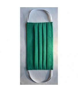 Farebné ochranné rúško dvojvrstvové 3ks - Dámske Zelená