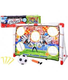 Futbalová tréningová bránka + lopta + pumpa