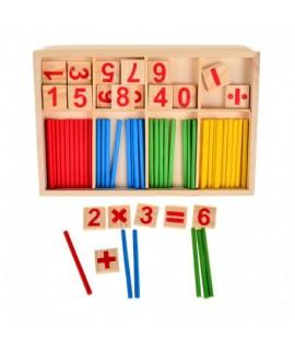 Hravé detské matematické počítadlo